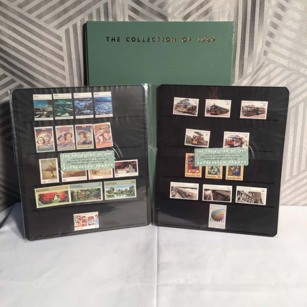 The Collection Of 1989 Australian Stamps Book