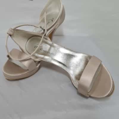 Womens Ashlee Lauren 10cm Heel Sandals Size 8