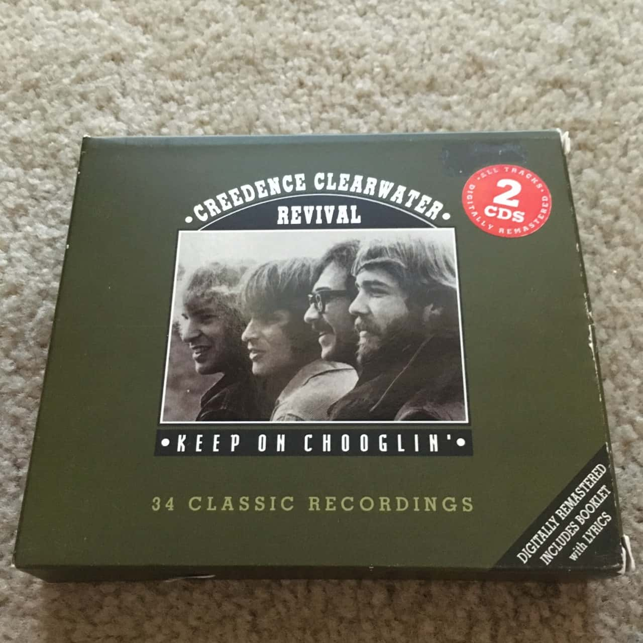 Creedence Clearwater Revival - Keep on Chooglin  2 CDs