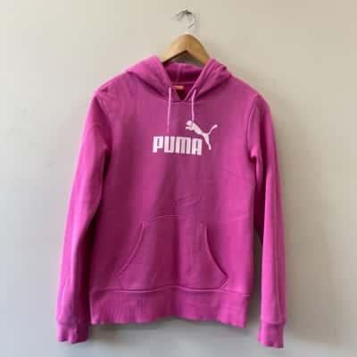 Puma Kids Size 12 Jacket Pink
