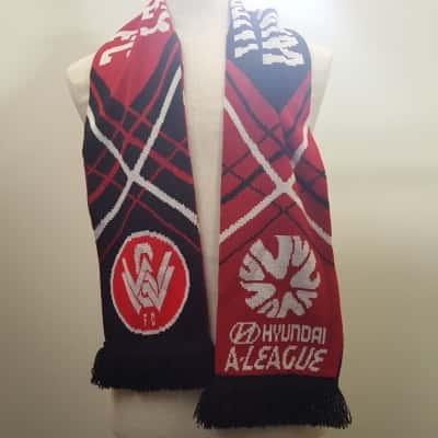 Red Western Sydney Wanderers Scarf