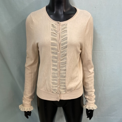 Alannah Hill Womens  Size 14 Cardigans Cream