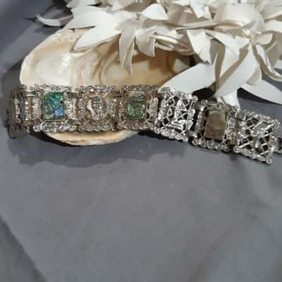 Egyptian style with Mother of Pearl Womens Bracelets