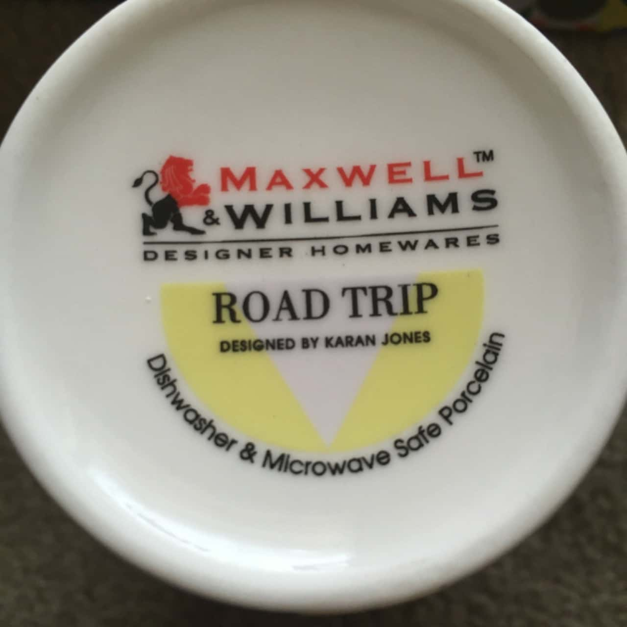 Set of 4 Conical Mugs - Maxwell Williams - Brand New