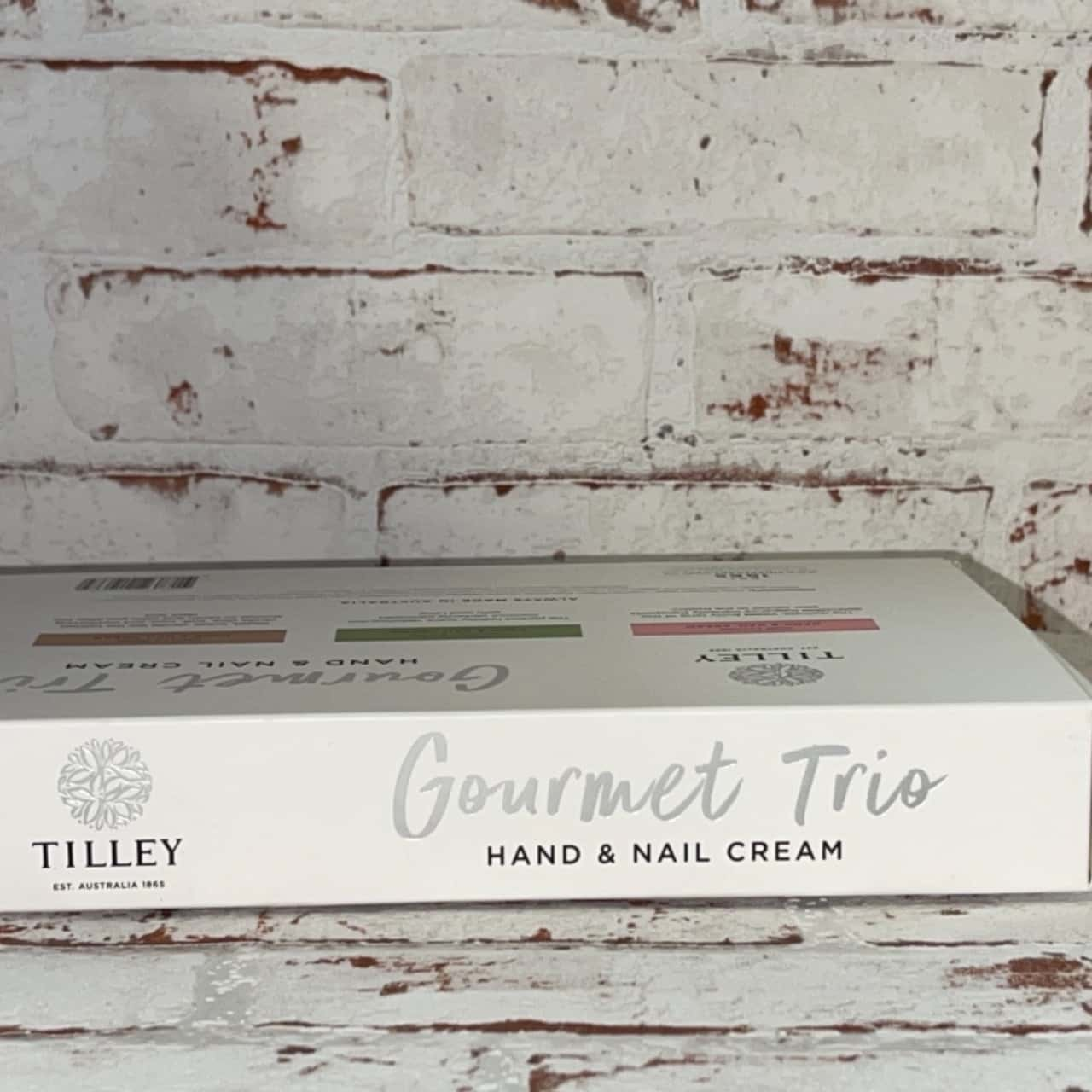 Tillys Gorment Trio 45ml Of Hand & Nail Cream In vanilla bean, coconut and lime and Pink Lychee Fruity Tang