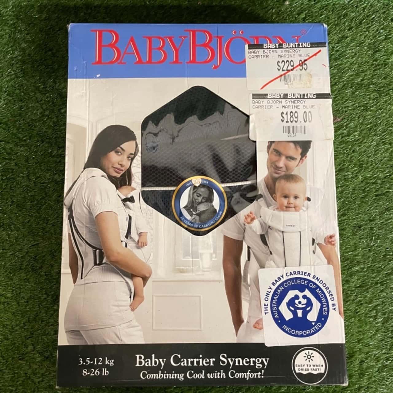 Baby Björn Marine Blue 'Synergy' Carrier