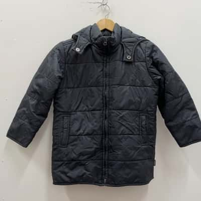 Kids  Size 7 Jackets Black  Puffer