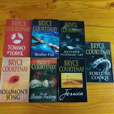Bryce Courtenay Novels Collection