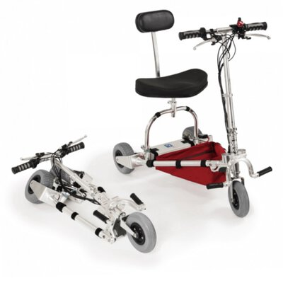 Electric Travel Scooter Portable In a Canvas Carry Bag