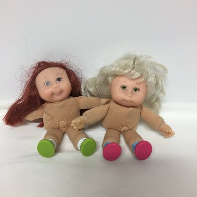 Cabbage Patch Mini Dolls x2