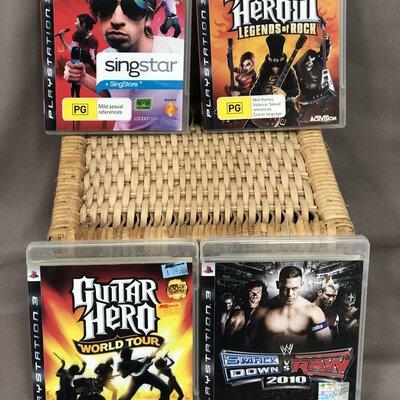Playstation 3 Game Bundle ( Set of 4 )
