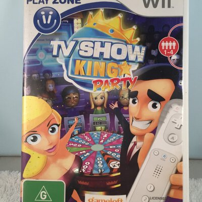 NINTENDO WII game  - King Party