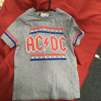 -REDUCED! - Official AC/DC Kids T Shirt, size 10yrs