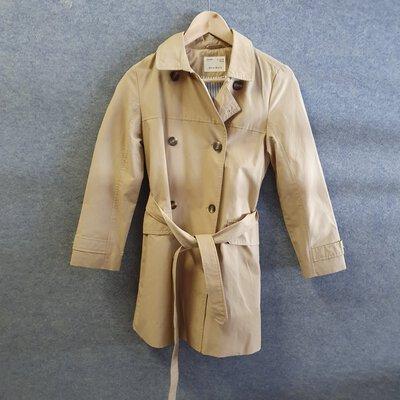 ZARA Girl Jacket Size 11/12 152 cm Cream