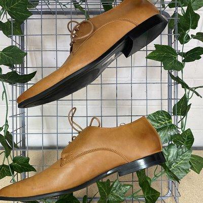 Connor Men's Dress Shoes Tan