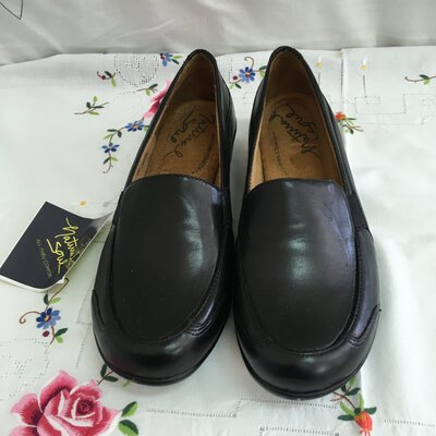 Natural Soul Women's Shoes, Black, Size UK 4.5, AU 6.5, New