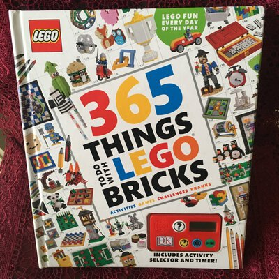365 Things To Do With Lego Bricks - Hardcover Book by Simon Hugo, Published-2016