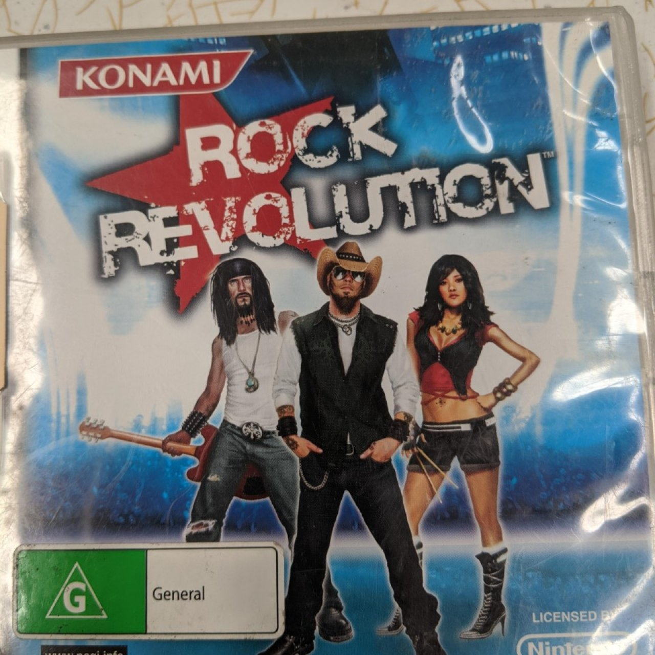NINTENDO DS  - Rock Revolution