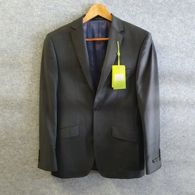 Ted Baker Men 2 Piece Suit Charcoal Size 36R BRAND NEW WITH TAGS RRP $599
