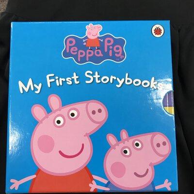 Peppa Pig My First Storybooks Box Set 5 Books