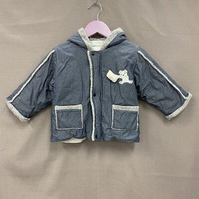 Berlingot Kids Blue Bear Winter Coat Size 1