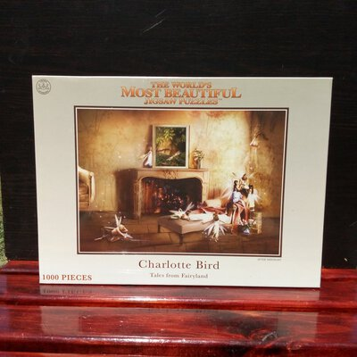 CROWN & ANDREWS Charlotte Bird 1000 Piece 'Tales From Fairyland' Jigsaw Puzzle