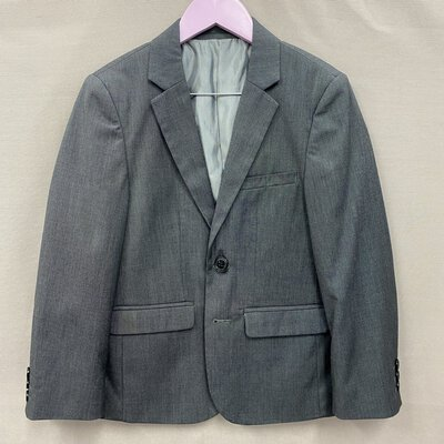 Peter Morrissey Boys Grey Suit Jacket Size 8
