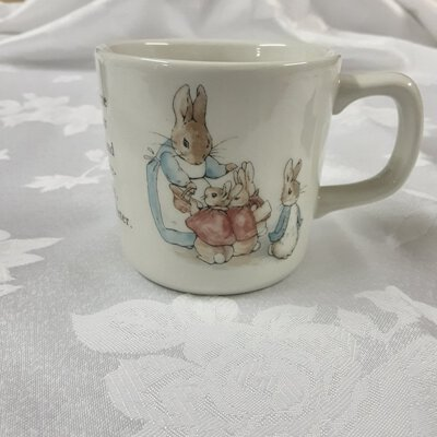 Peter Rabbit Cup & Bowl Set