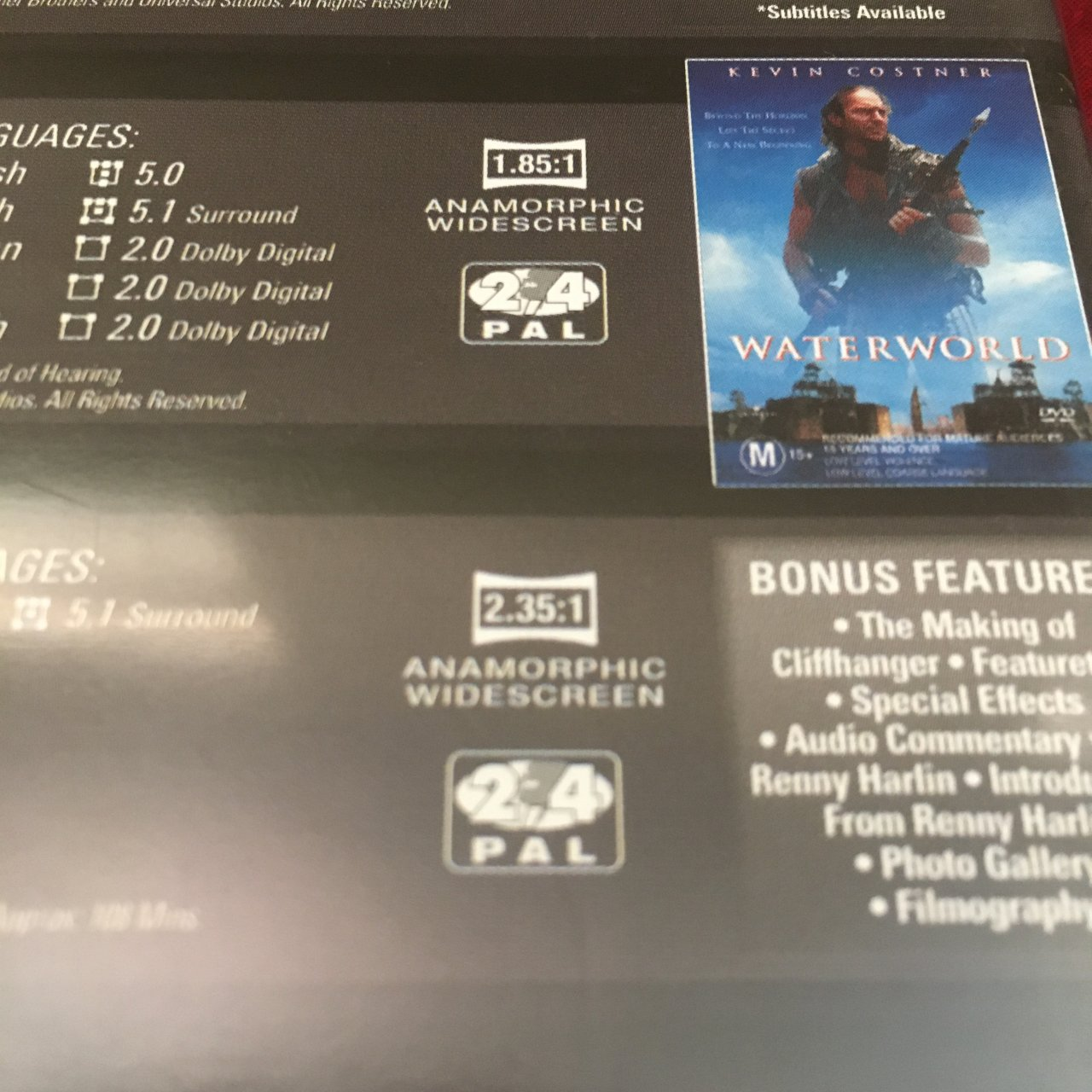 Action Adventure - 5 Movie Collection DVD Pack