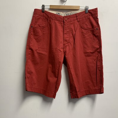 U.S. Polo Assn. Denim Co. Men's Shorts Size 36 Red (BNWT)