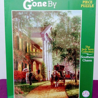 Holdson 'IN DAYS GONE BY'  1000 Piece Jigsaw Puzzle Southern Charm