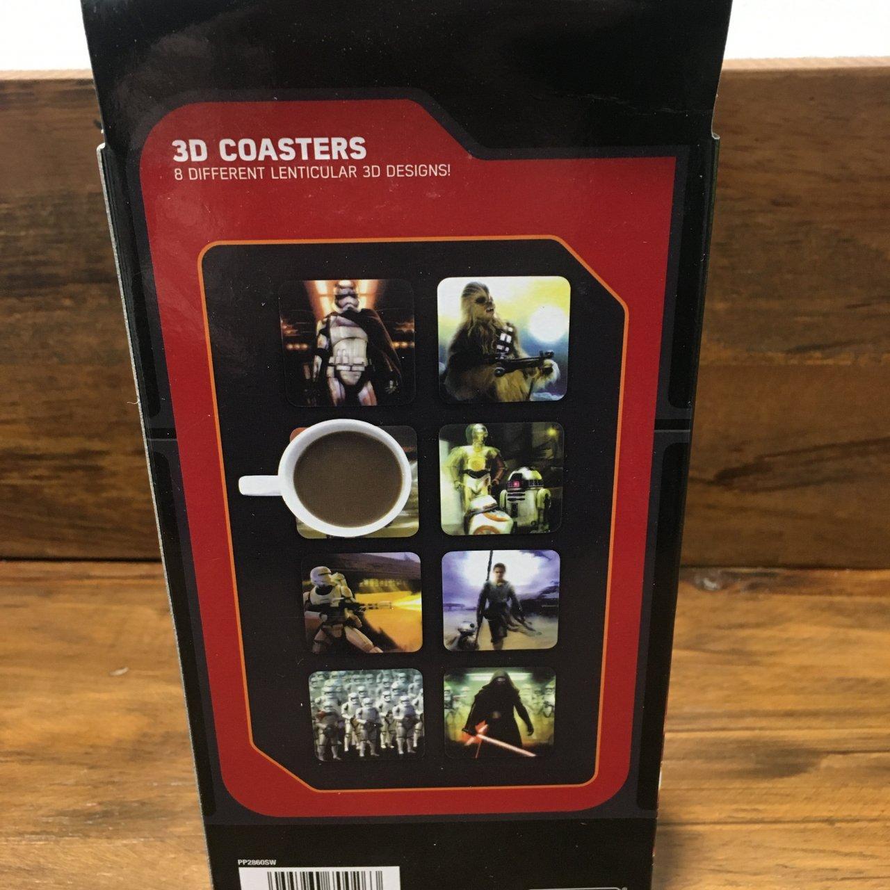 Disney Star Wars, 3D Coasters, Pack of 8 Coasters