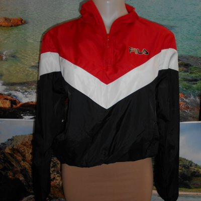 Track Top By FILA - SIZE 12