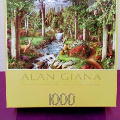 ALAN GIANA 1000 Piece Jigsaw Puzzle