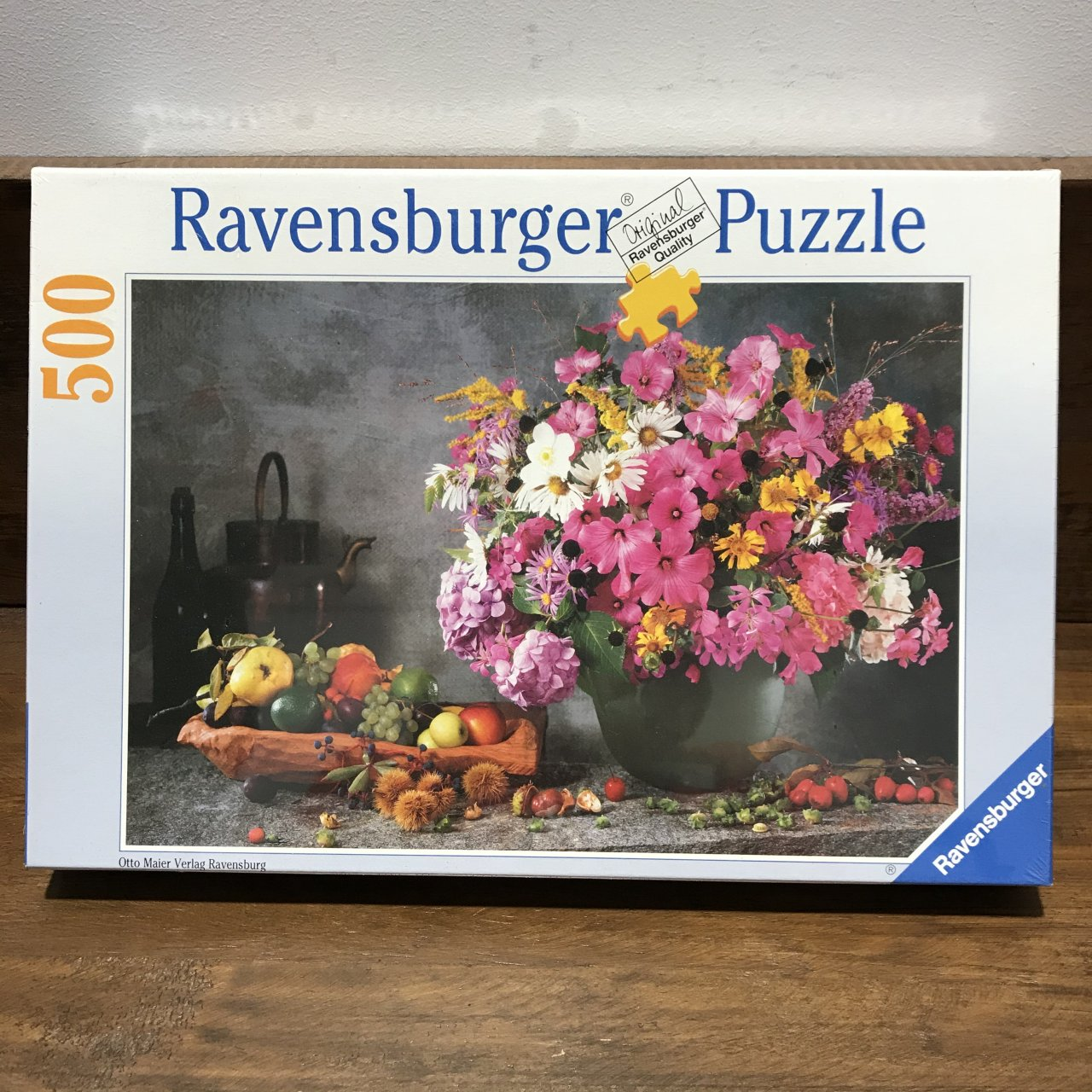BRAND NEW UNOPENED RAVENSBURGER 500 PCE Jigsaw Puzzle  Flowers And Fruit