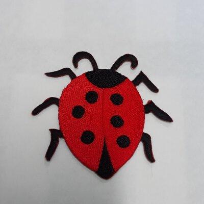 END OF YEAR FLASH SALE!!! Iron on patches, rabbit, ladybug