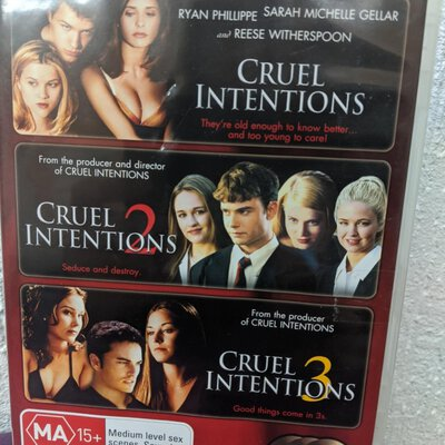 CRUEL INTENTIONS The Ultimate Collectors pack