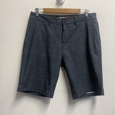 Quiksilver Men's Shorts Size 30 Black