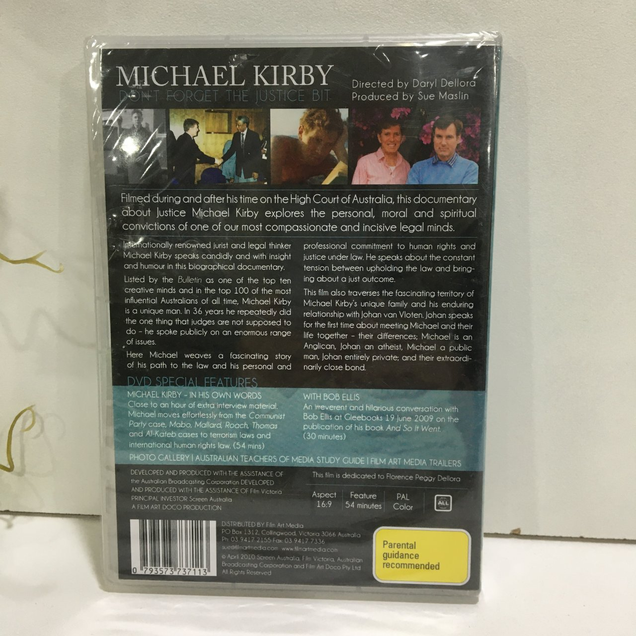 50% Off - Michael Kirby, Don't Forget the Justice Bit, DVD