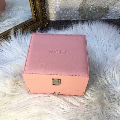 Natio Pink Jewellery Box