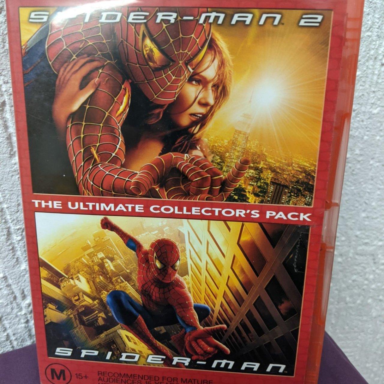 SPIDERMAN & SPIDERMAN 2 DVD