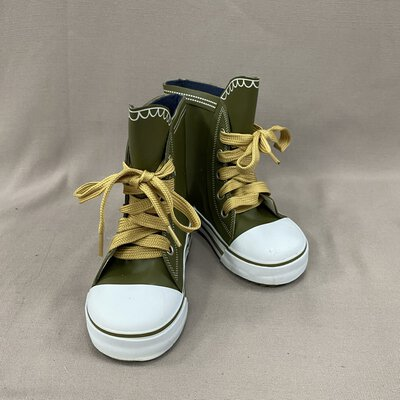 Wellies Australia Kids Olive Green Boots Size 22