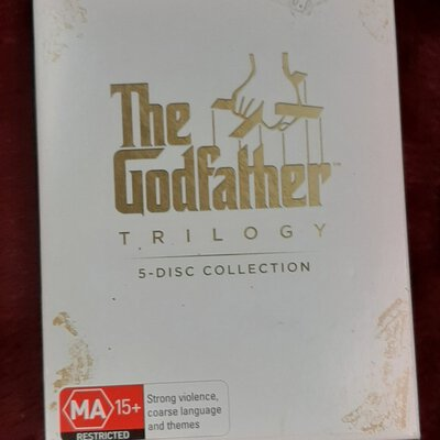 The Godfather Trilogy 5 DVD Pack