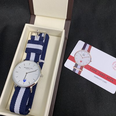 OLE Prospect Hill Unisex Watch White/Blue
