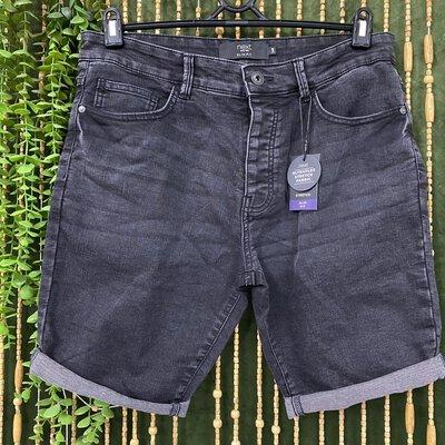 Men's Next Denim Shorts New Size 34