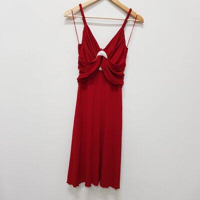 Gerry Shaw Ladies Red Cocktail Dress Size 10
