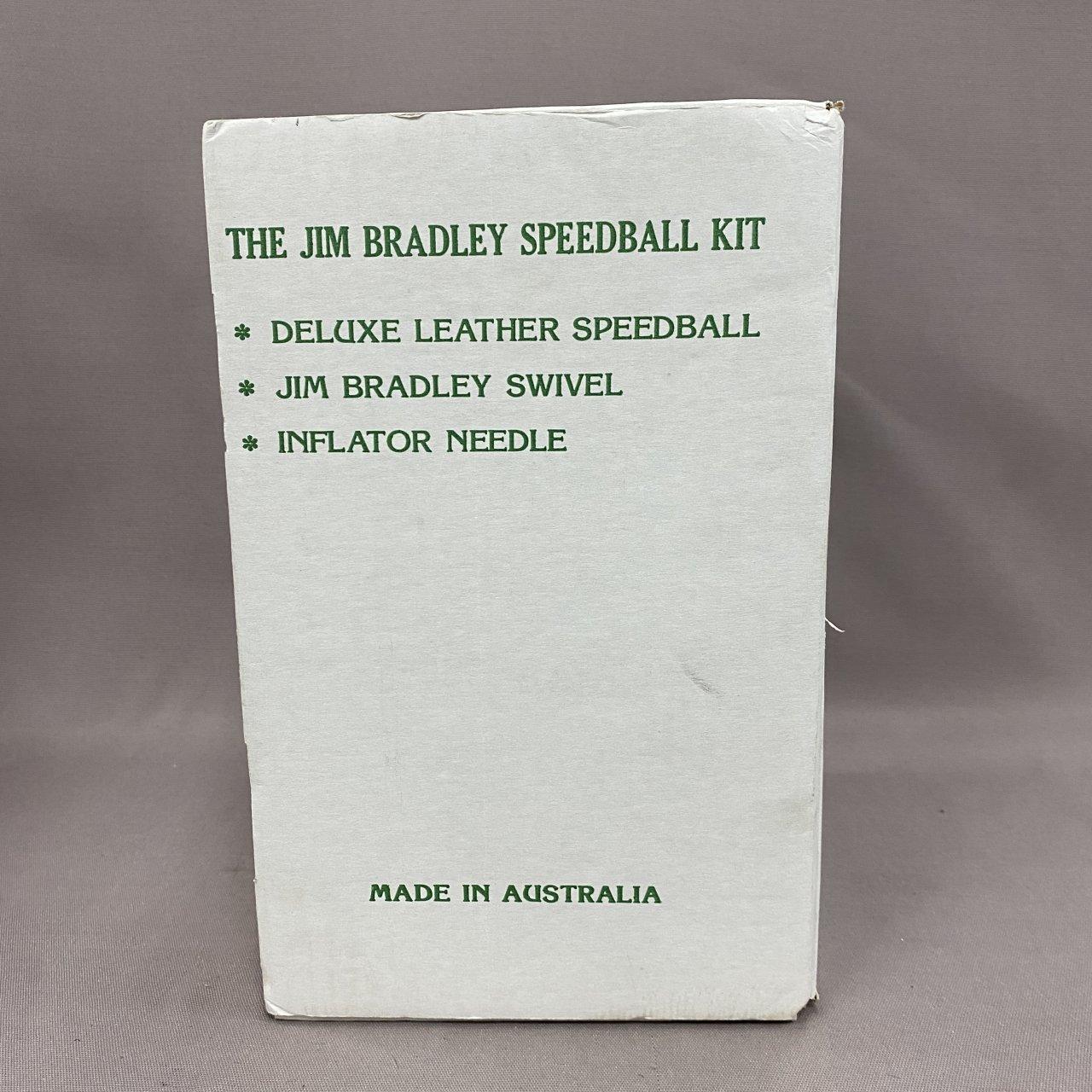 Jim Bradley Black Leather SpeedBall Kit