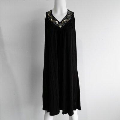 BNWT Cruise Wear & Co. Black Sleeveless Bejewelled Sequin Dress - Size M