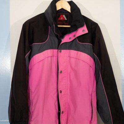 Aggression Extreme, Womens, Ski Jacket, Size US, Pink/Black