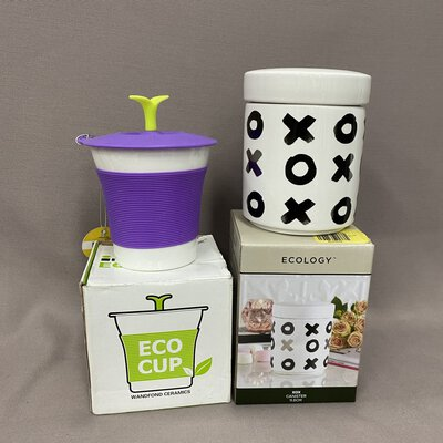 Ecology Canister + Eco Cup Set